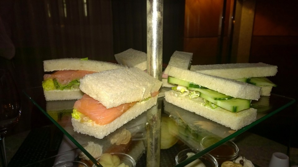 Three different sandwiches each