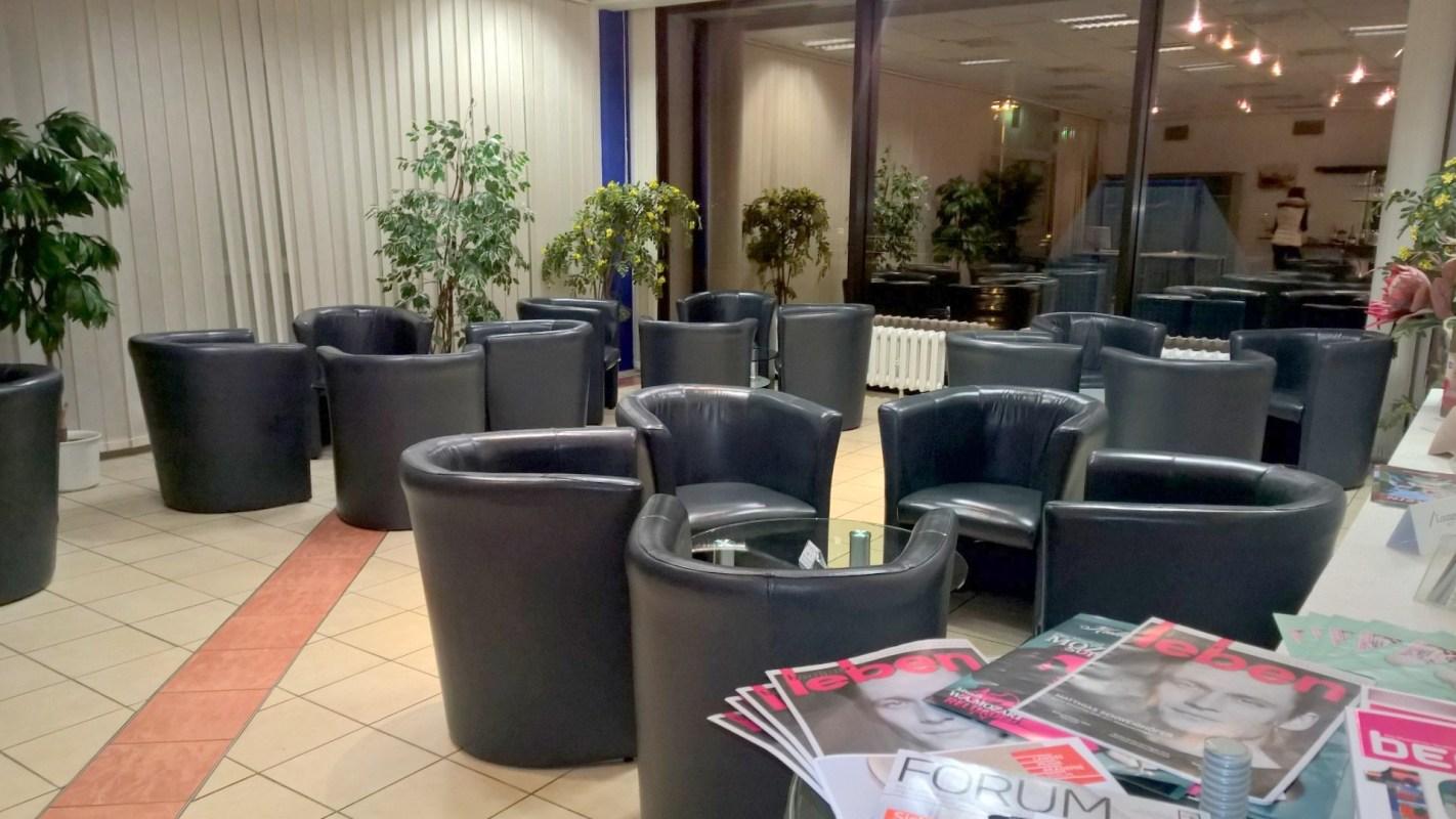 Hugo Junkers Lounge Berlin Seating