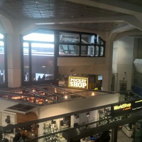 Lufthansa Business Lounge Berlin View