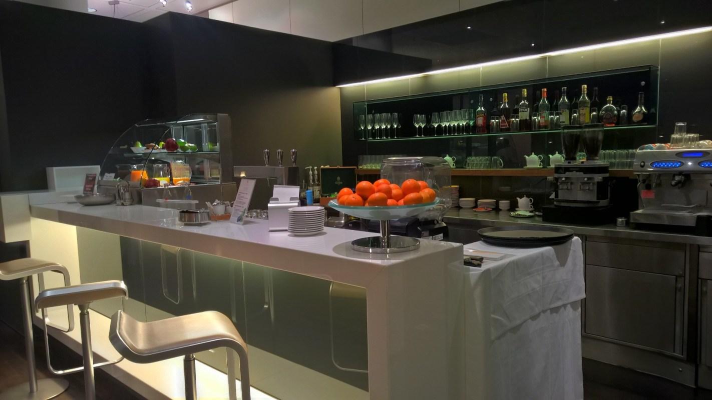 Lufthansa Senator Café Munich