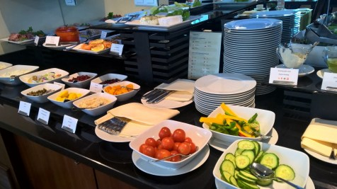 InterContinental Warsaw Executive Lounge Breakfast