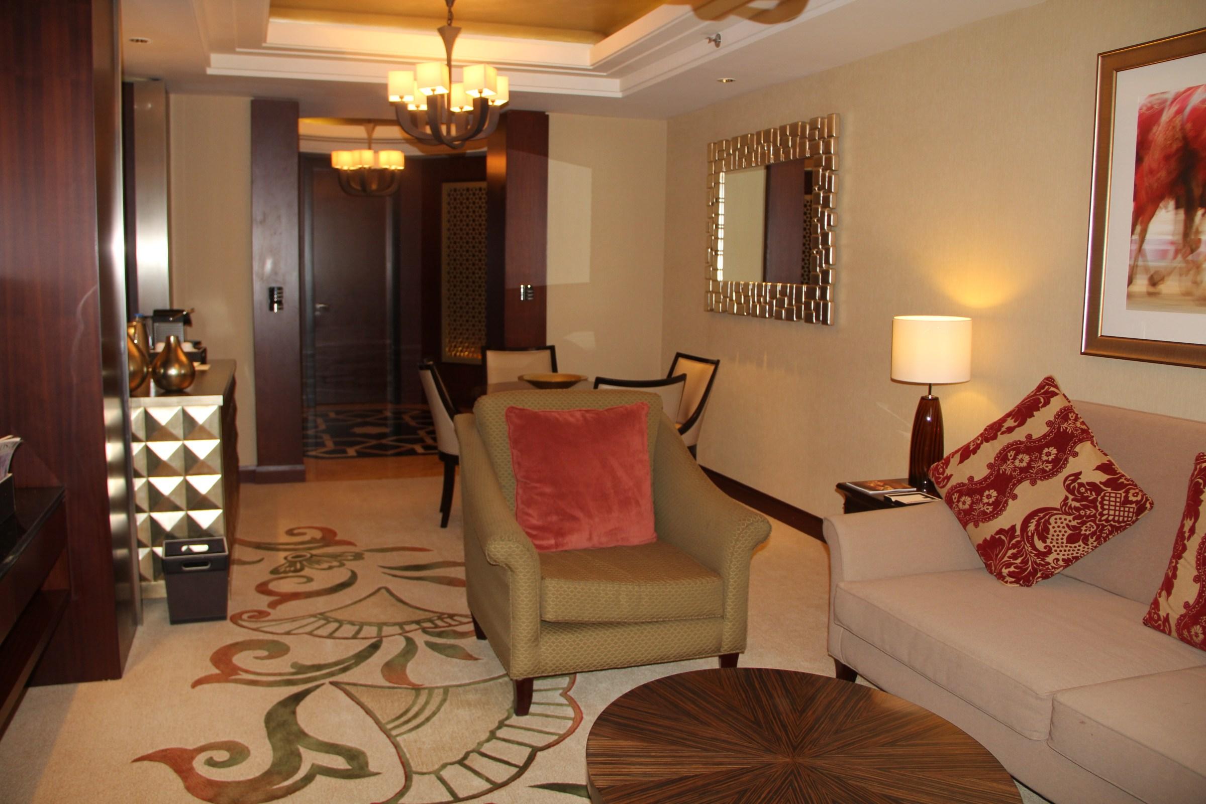 Conrad Dubai Living Room