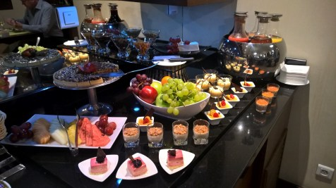 InterContinental Warsaw Executive Lounge Dinner