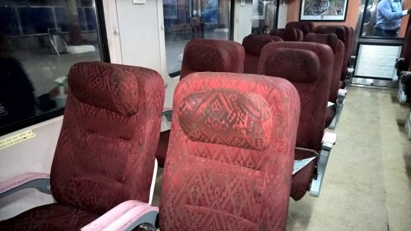 Shatabdi Express First Class