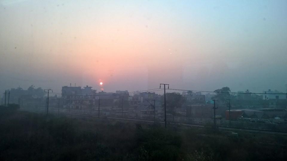 Shatabdi Express First Class View
