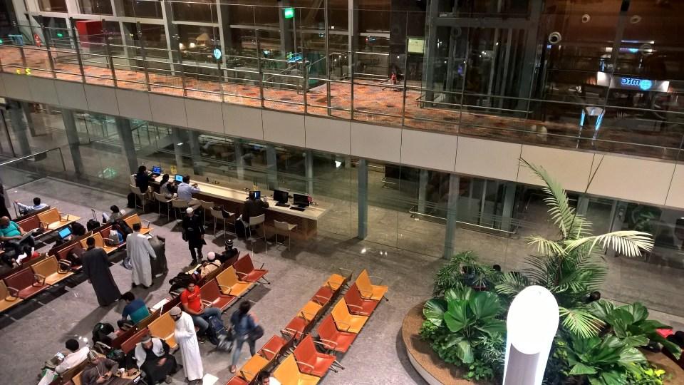 Plaza Premium Lounge Bengaluru View