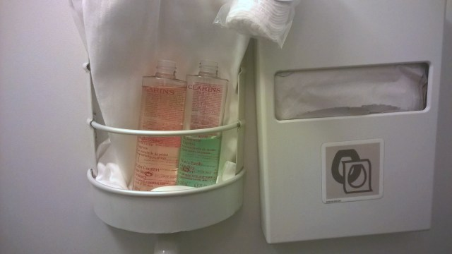Air France Business Class Toilets