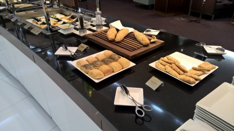Etihad Lounge Paris Buffet