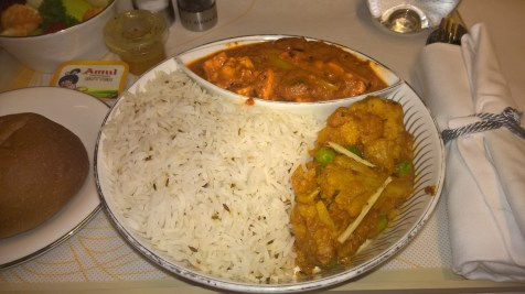 Jet Airways domestic Première Catering
