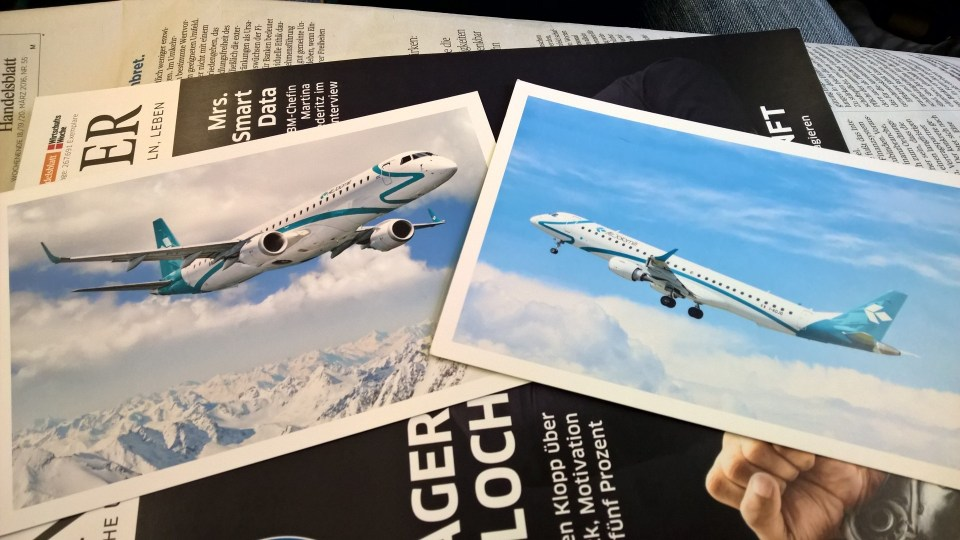 Air Dolomiti Postcards