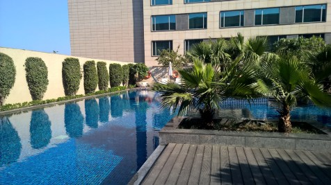 JW Marriott Delhi Aerocity Pool