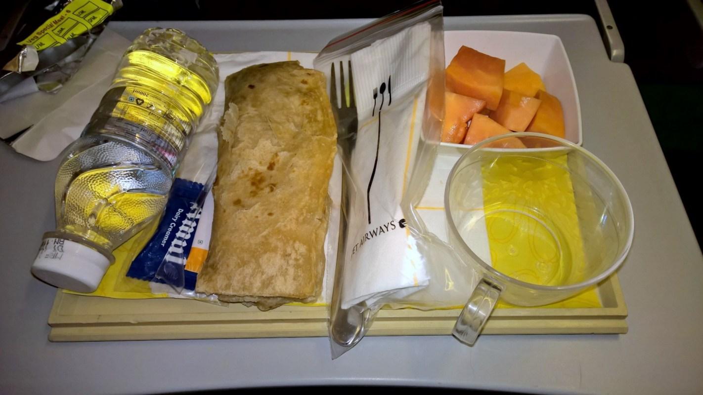 Jet Airways Economy Class Seating