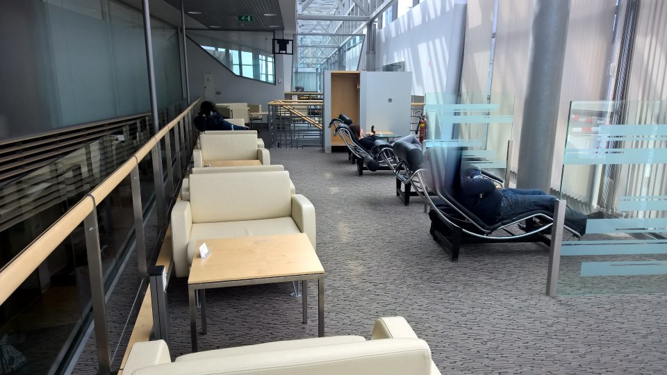 The Business Lounge Riga is complimentary for Business Class passengers