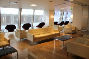 Qantas First Class Lounge Los Angeles Seating