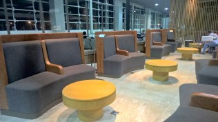 LATAM Lounge Sao Paulo Seating