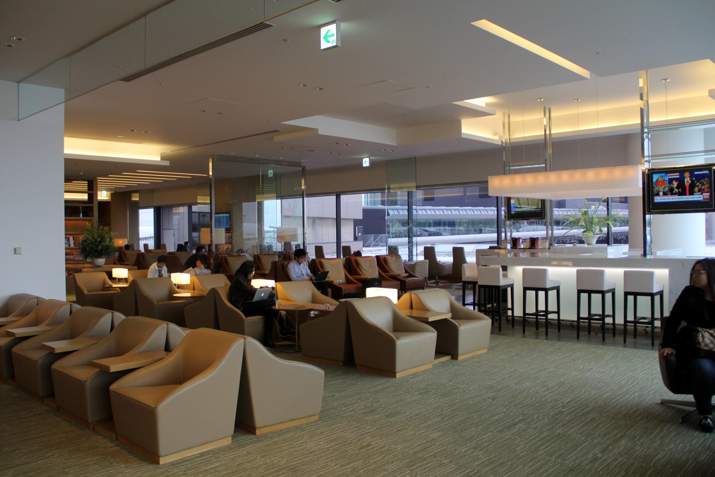 JAL Sakura Lounge Tokyo Narita