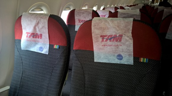 TAM domestic Economy Seating
