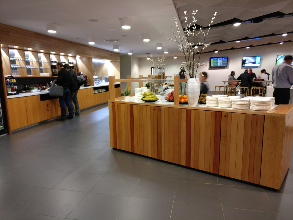 Air New Zealand Koru Lounge Wellington