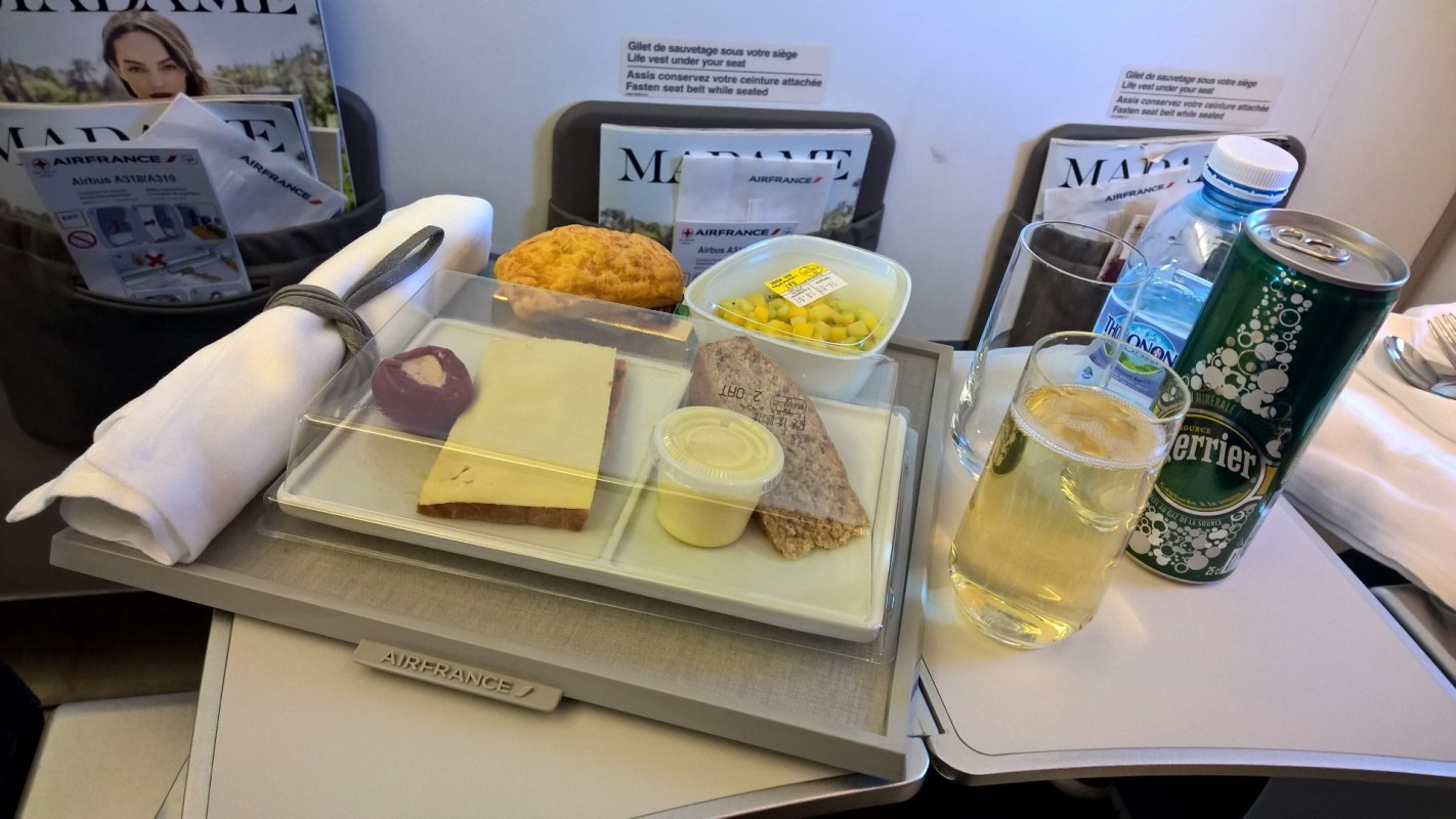 Air France regional Business Catering