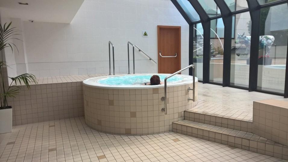 Hilton Prague Jacuzzi