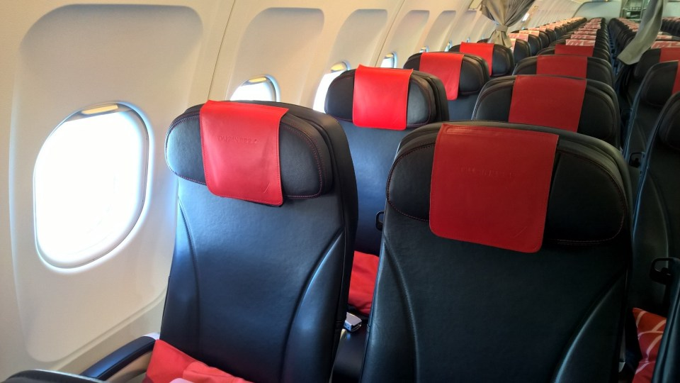 Air France regional Business Seating