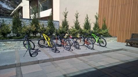 JW Marriott Mussoorie Bikes