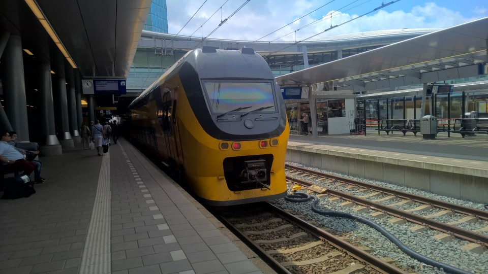 Train Travel in the Netherlands