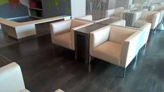 Erste Premier Lounge Prague Seating