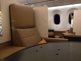 Etihad Airways Business Class Boeing 787 Seat