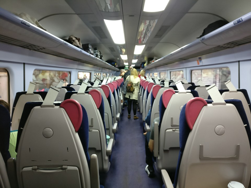 Great Western Railway Second Class
