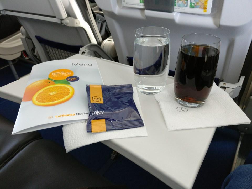 Lufthansa Business Class Airbus A321