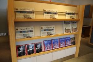 American Airlines Admirals Club Tokyo Narita Magazines