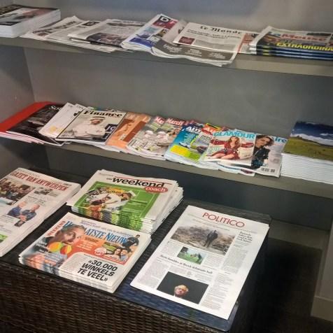 Diamond Lounge Brussles Magazines
