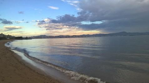 Running in Florianopolis
