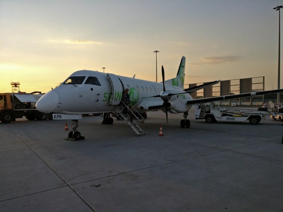 Sprint Air Saab 340