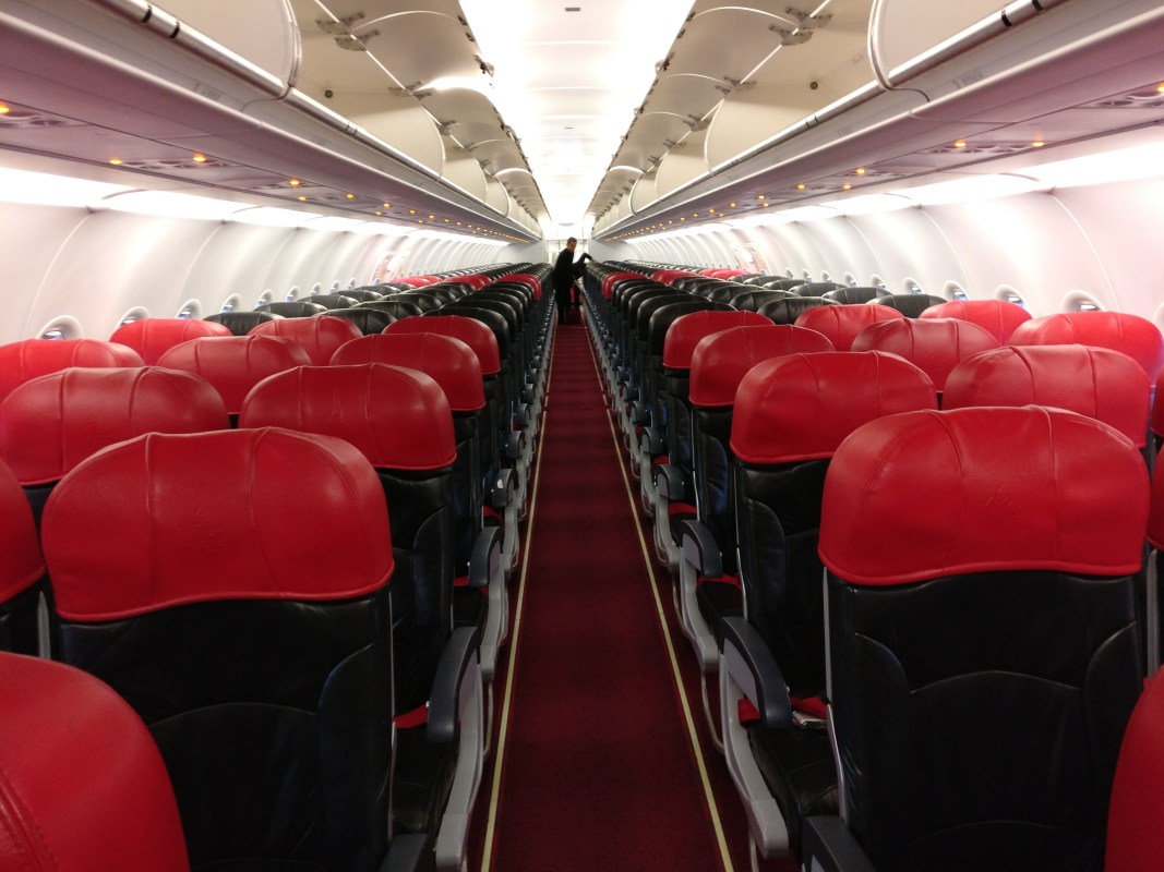 Air Asia Airbus A320 Seating