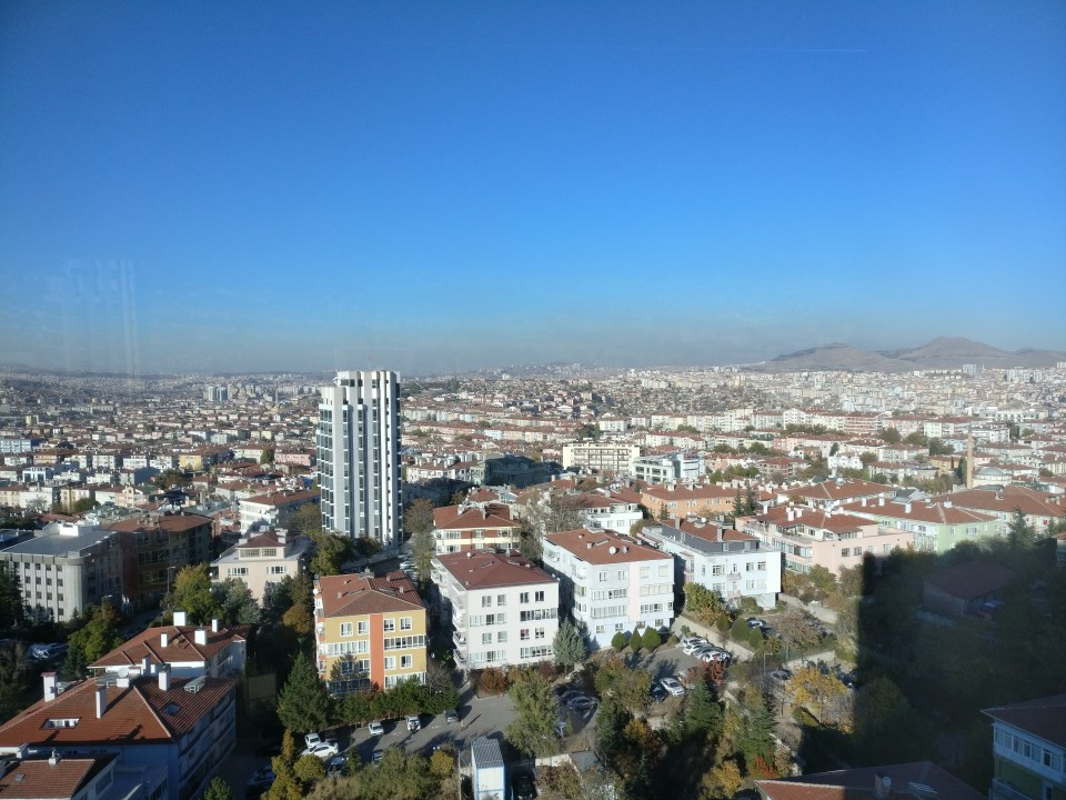 Hilton Ankara Excecutive Lounge View