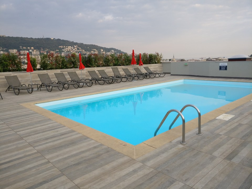 Novotel Nice Centre Vieux Pool