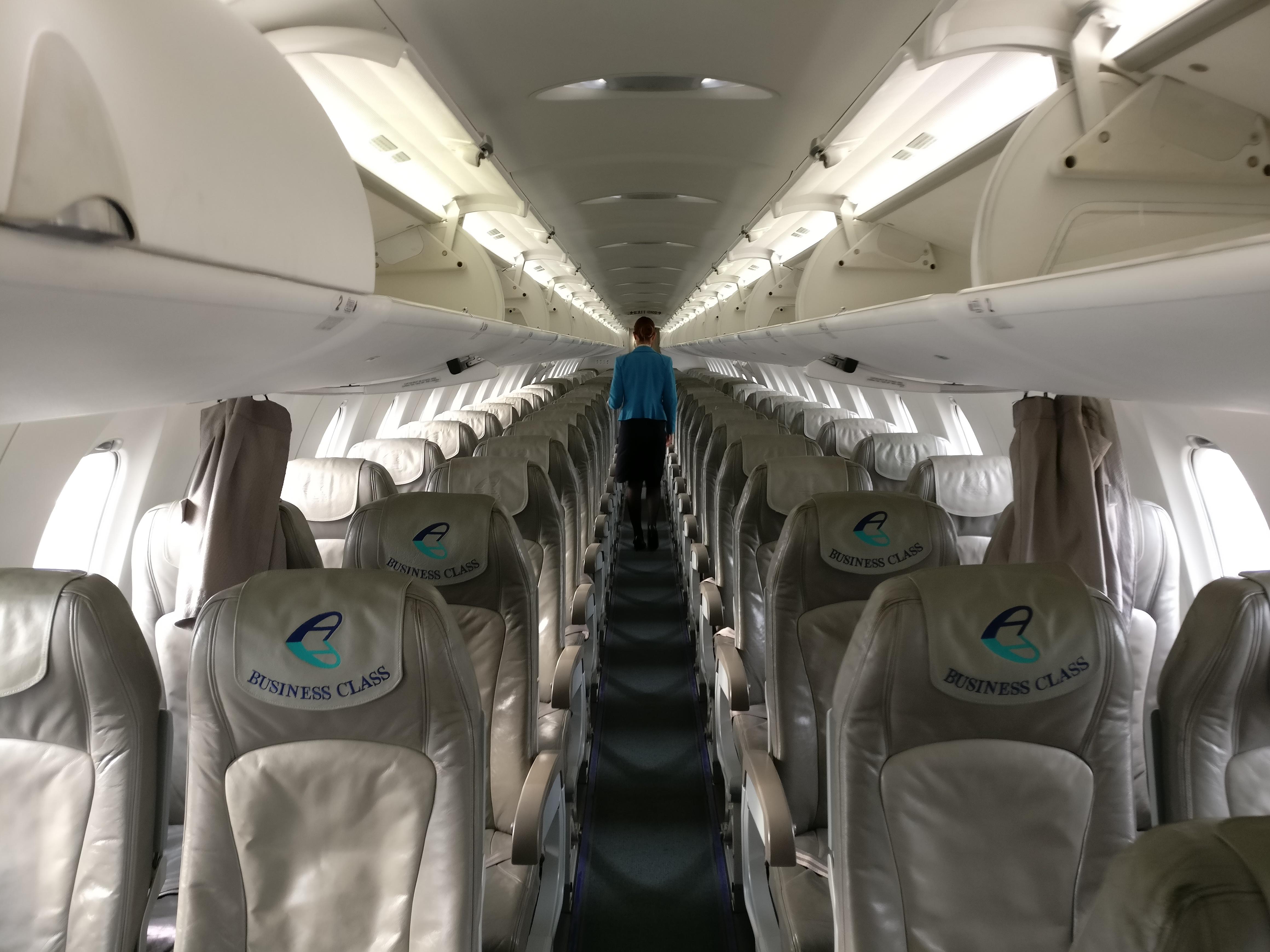 Adria Airways Economy Class Seating