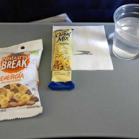 Aerolineas Argentinas Boeing 737-700 Economy Class Snack