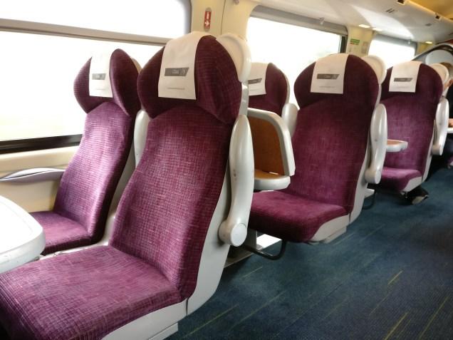 CrossCountry First Class Seats