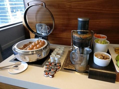 Hilton Brisbane Breakfast Lounge