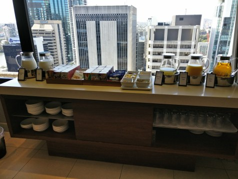 Hilton Brisbane Breakfast Lounge