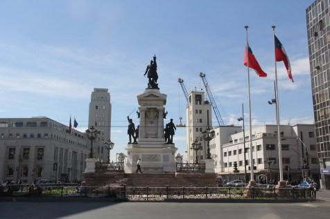 Valparaiso Monumento a Los Heroes de Iquique