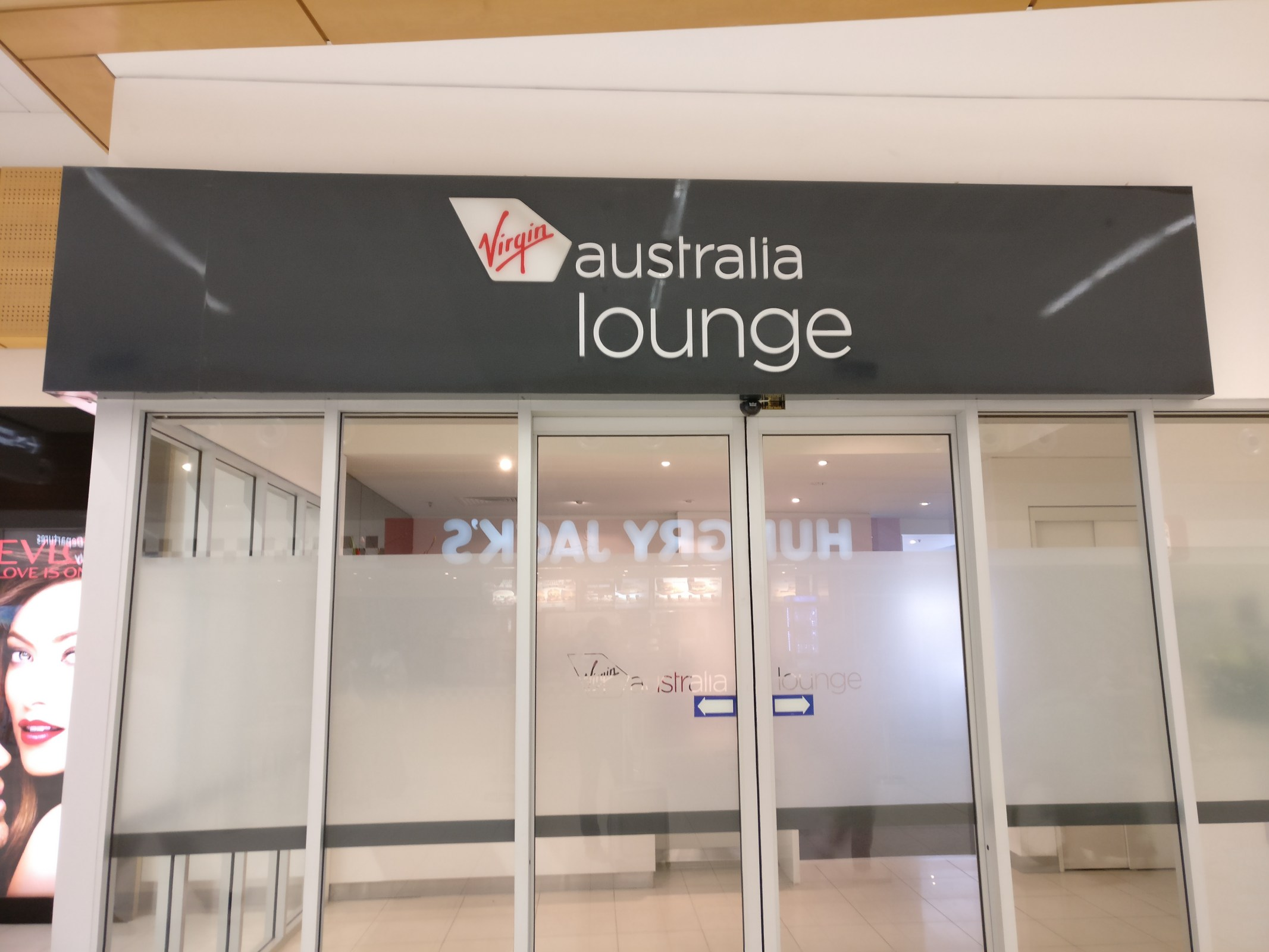 Virgin Australia Lounge Adelaide Entrance