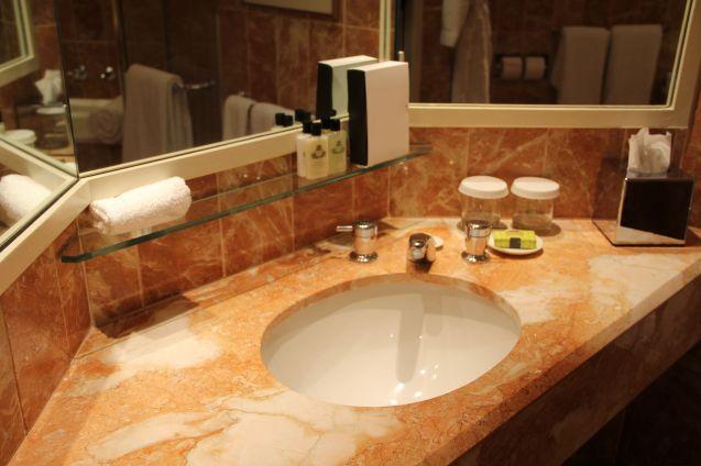InterContinental Adelaide Riverside Room Bathroom