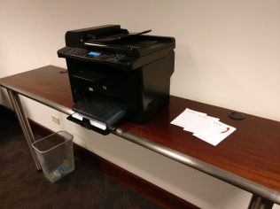 Sumaq VIP Lounge Lima Printer