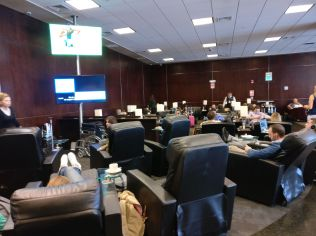 Sumaq VIP Lounge Lima Seating