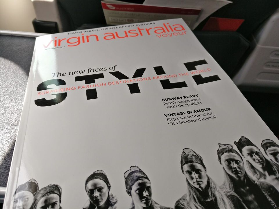 Virgin Australia Domestic Business Class Magazine