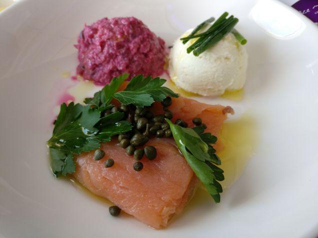 Virgin Australia Domestic Business Class Meal